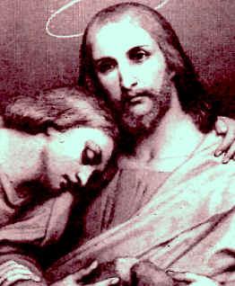 San Juan Apóstol con Jesús